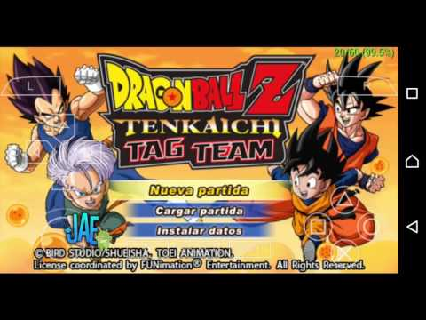 Como activar los trucos (cheats) Dragon ball Z Tenkaichi Tag Team ANDROID PPSSPP