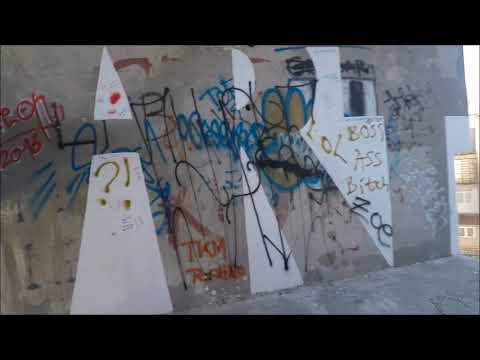 Exploration of Sniper's Tower in Mostar, Bosnia