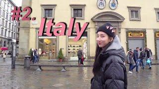 [VLOG] #2. Italy 이탈리아 커플 여행 브이…