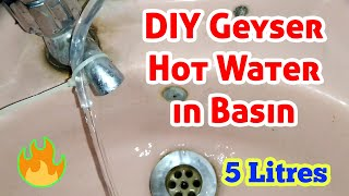 DIY Geyser of 5 Litres | Water Heater Homemade | How to Make Geyser at Home Easily | Som Tips