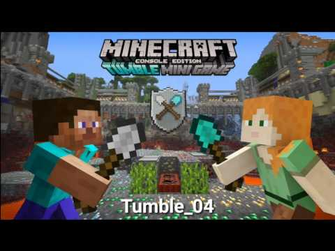 Minecraft console edition: Tumble new minigame extracted music!