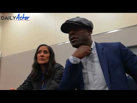 Wondercon Interview: 'Timeless' Actors, Denise Christopher & Paterson Joseph