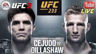 EA UFC 3: Cejudo Vs Dillashaw UFC Fight Night 143 - Live Fr