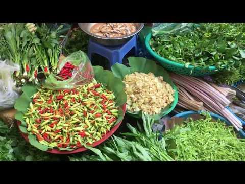 Cheap Street Food In Phnom Penh Market - Art Of Living In Asian Market