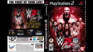 WWE2K16 OwnStyles PS2 Release!! (Tutorial How To Use And Play WWE2K16 OwnStyle)