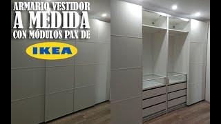Gambar cover Montaje armario vestidor Ikea pax - Timelapse