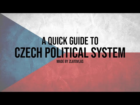 Czech political system explained.