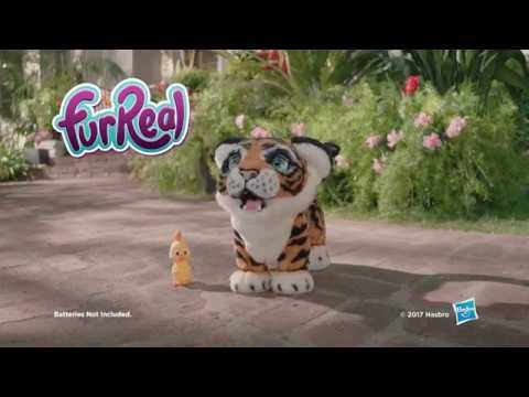 FurReal Friends Интерактивная игрушка тигренок