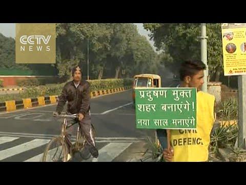 New Delhi limits traffic to curb air pollution