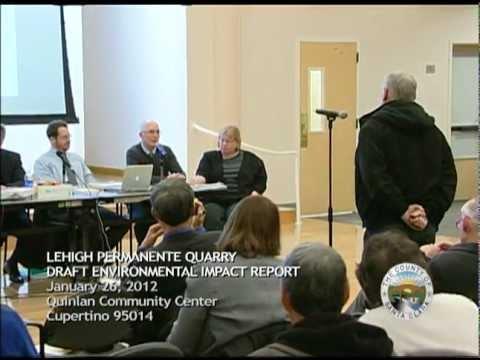 Lehigh Draft EIR Public Scoping Meeting