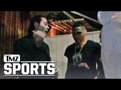 NBA's Russell Westbrook Stopped By the Bouncer | TMZ Sports