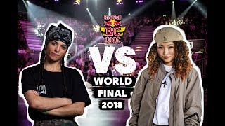 San Andrea vs Ami - Finał 1vs1 na Red Bull BC One B-Girl World Final 2018