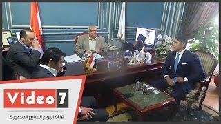 أبو هشيمة والصقر يعرضان قصتى نجاحهما بجامعة عين شمس