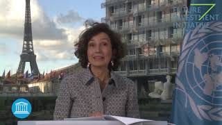 Audrey Azoulay, Director General, UNESCO - FII 4th Edition