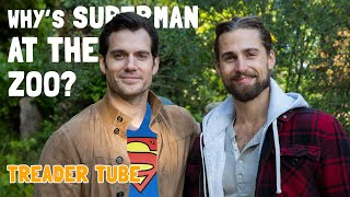 One of TREADER TUBE's most viewed videos: Meeting Superman at the Zoo! In the UK