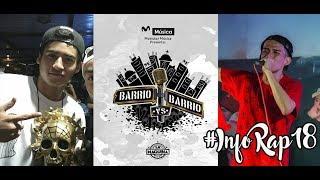 #InfoRap18: Campeón BDM México 2017, Barrio vs Barrio, RBBDLG Ecuador y más... l FreeRap Zone