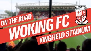 One of Smiv's most viewed videos: On The Road - WOKING FC @ KINGFIELD STADIUM