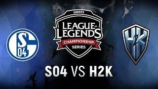 Video S04 vs. H2K - Week 9 Day 1   EU LCS Spring Split    FC Schalke 04 vs. H2k-Gaming (2018) download MP3, 3GP, MP4, WEBM, AVI, FLV Agustus 2018