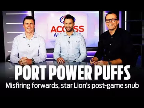 Star Lion's post-game snub - Access All Areas - Round 5 2018 - AFL