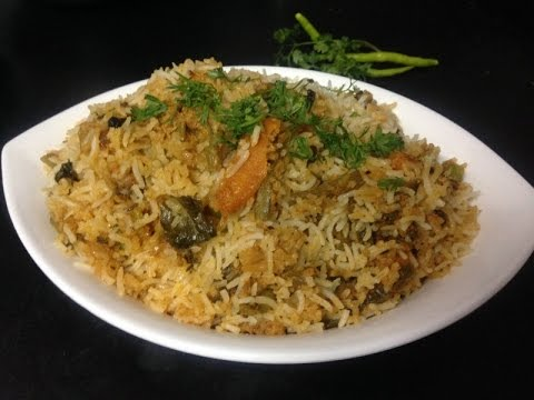 How to make veg biryani in telugu language