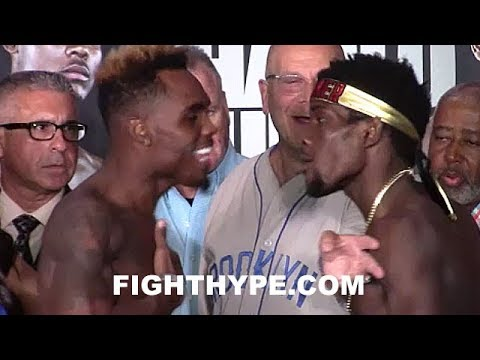 (WHOA!) JERMELL CHARLO AND ERICKSON LUBIN ERUPT; TRADE NASTY WORDS DURING HEATED FACE OFF