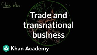 Globalization- trade and transnational corporations | Society and Culture | MCAT | Khan Academy