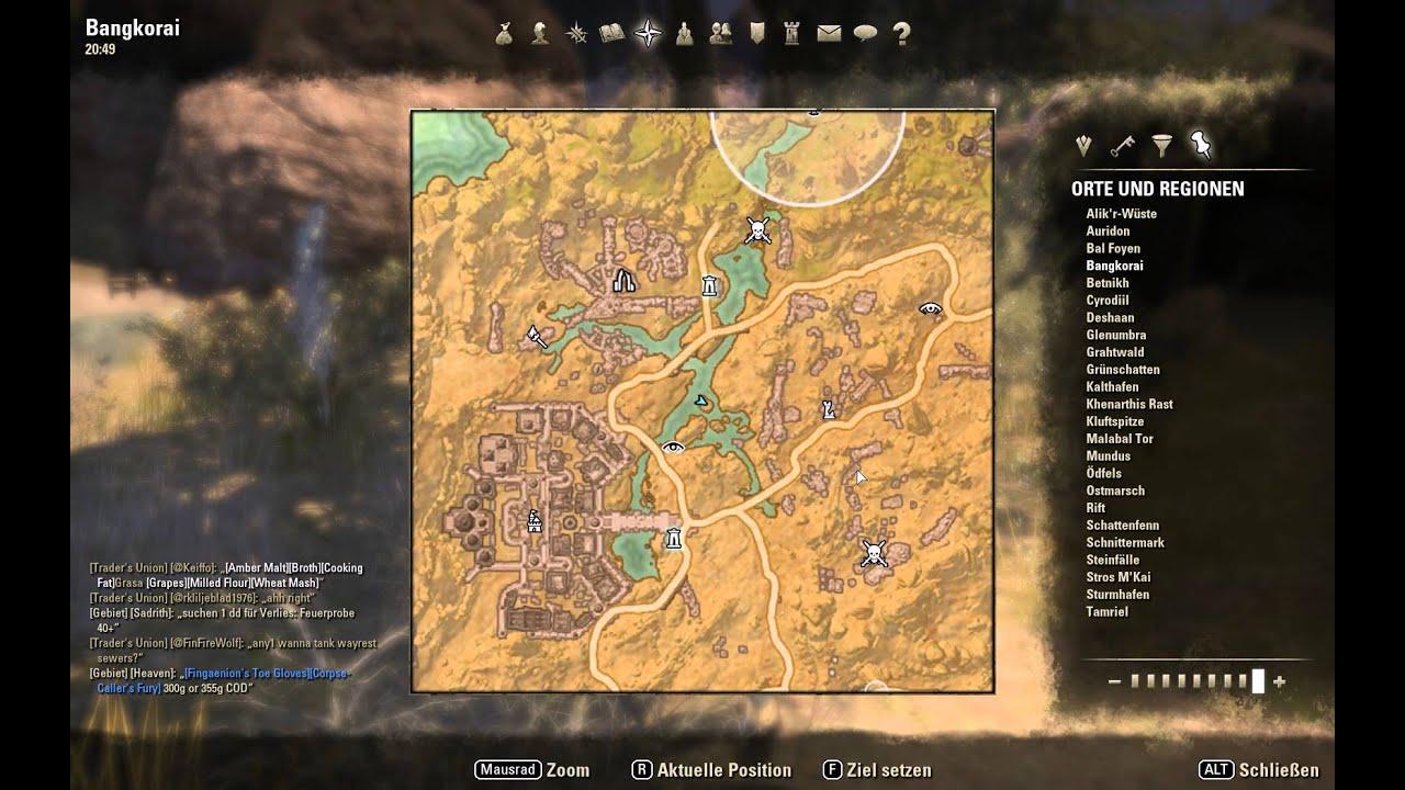 Schatzkarte V / Treasure Map V Bangkorai - The Elder ...