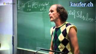 Gastvortrag an der TU München  Olaf Schubert über Ferkelkram im Internet   Microsoft youtube origina