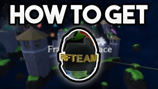 HOW TO GET THE FIFTEAM EGG! | ROBLOX: 2018 Egg Hunt