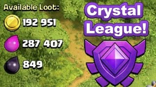 Clash of Clans Crystal League III with WOWHOBBS ~ Max Loot Raid and Base Update How to & Lets Play