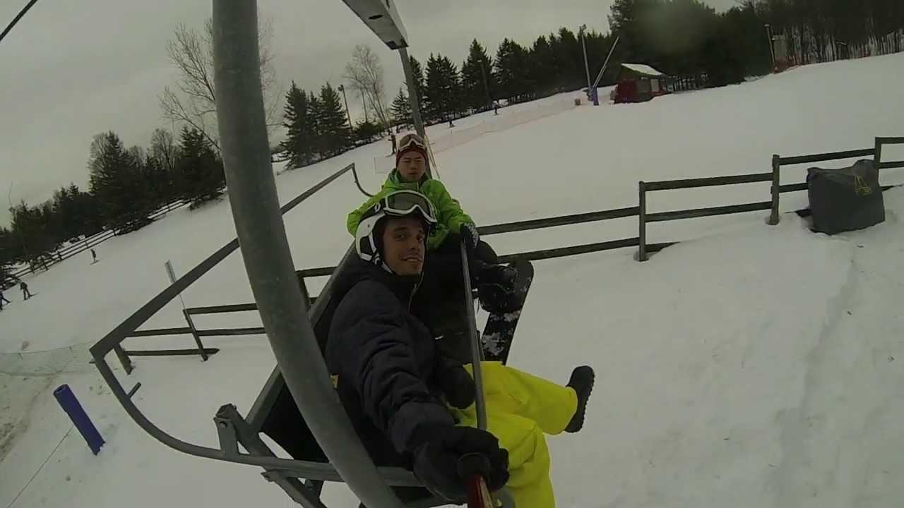 Testing Gopro Studio Template - Snow Valley Snowboarding - YouTube