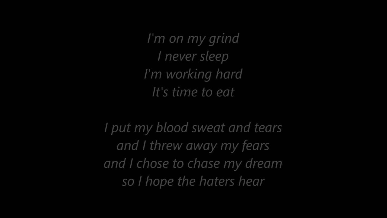 strictly for my grind lyrics