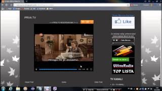 Kako gledati TV uzivo preko Interneta(besplatno)