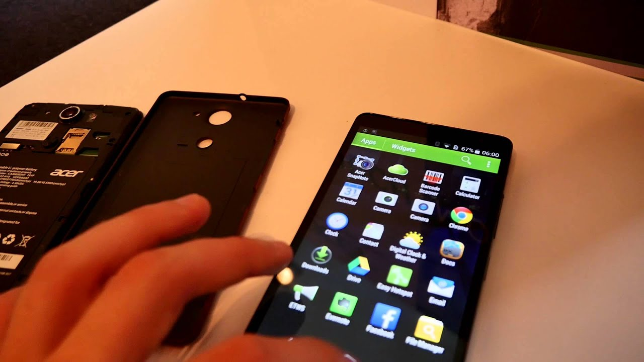 Acer Liquid X1 Hands On Full HD