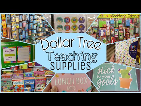 Dollar Tree Teaching Supplies Haul • Perfect For Homeschooling, Teachers And Parents