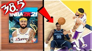 NBA 2k20 MyCAREER - My Player Nation #2! NBA 2k21 Cover + NASTY CONTACT POSTER DUNK LAID HIM OUT!