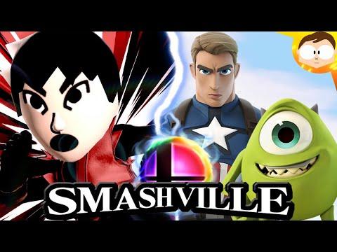 CAP 'N' MIKE CROSSOVER: Smash Ville |