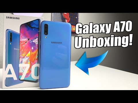 Samsung Galaxy A70 Unboxing & Hands On!