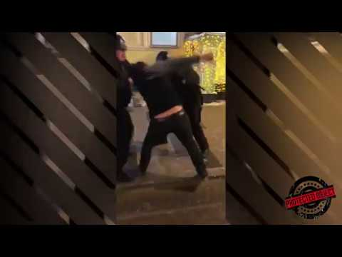 Чеченский БОЕЦ устроил ПОГРОМ в БАНКЕ и избил сотрудников ГБР (полное видео)