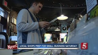 Local Shops Prepare For Small Business Saturday