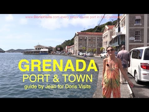 Grenada, St George's Port And Beautiful Harbour. Jean Reports For Doris Visits.