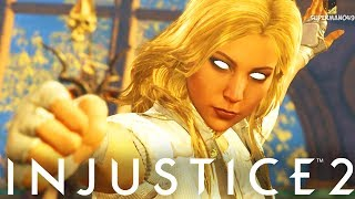 """THE GODDESS OF DAMAGE AND MIXUPS! - Injustice 2 """"Black Canary"""" Gameplay (Online Ranked)"""