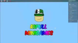 Ripull Minigames-Episode 2- (Roblox)