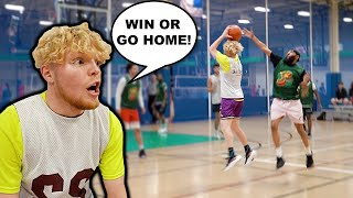 WIN OR GO HOME! Semi Finals 5v5 Men's League Basketball!