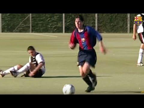 Lionel Messi ● Age 16 Rare Skills, Goals \u0026 Dribbles |La Masia| HD