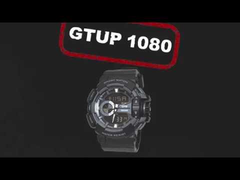 Sportovní hodinky GTUP 1080 - YouTube d40b37a790