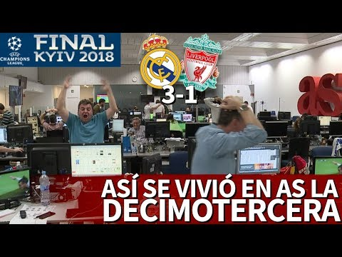Real Madrid 3-1 Liverpool | Así se vivió la final de la Champions 2018 en Diario AS