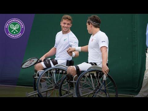 Alfie Hewett & Gordon Reid win Wimbledon 2017 gentlemen's wheelchair doubles