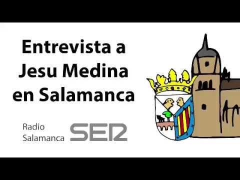 Entrevista al ilustrador Jesu Medina en Radio Salamanca Cadena SER | Homenaje a Rafael Farina