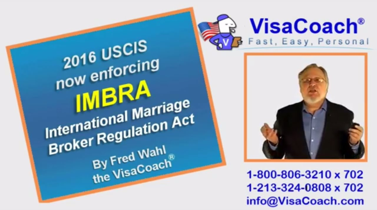 2016 USCIS enforces International Marriage Broker Act (IMBRA) K1 ...
